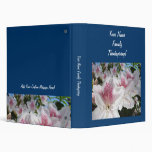 Thanksgiving Your Name Family binder Azaleas