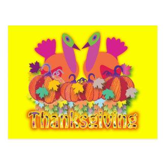 Thanksgivings Postcard