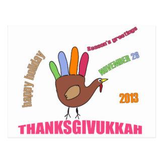 Thanksgivukkah 2013 postcards