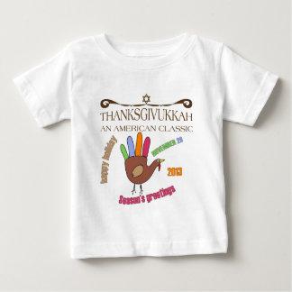 Thanksgivukkah feliz t-shirts