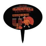 'Thanksgivukkah festivo Palillos De Tarta