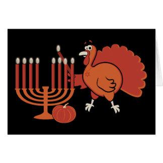 'Thanksgivukkah festivo Tarjeta De Felicitación