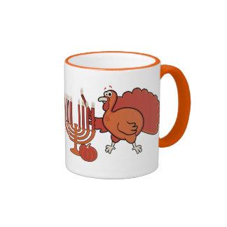 'Thanksgivukkah festivo Taza De Café