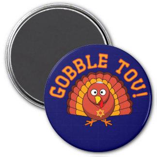 Thanksgivukkah Gobble Tov Turkey Magnet