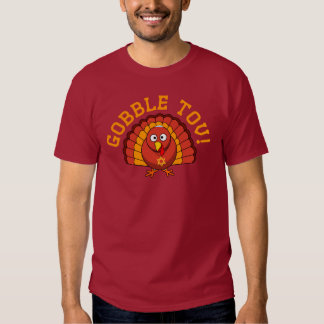 Thanksgivukkah Gobble Tov Turkey T-shirt