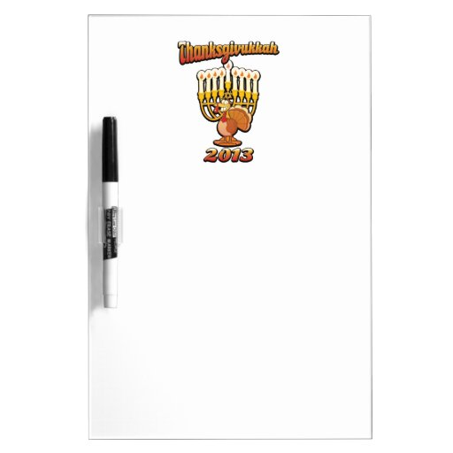 Thanksgivukkah Hannukah Thanksgiving Gift Humor a Dry-Erase Board