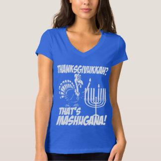 Thanksgivukkah Mashugana T-shirt