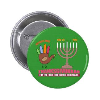 thanksgivukkah pin