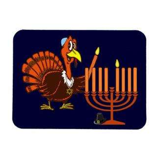 Thanksgivukkah Thankgiving Hanukkah Magnet