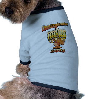 Thanksgivukkah Thanksgiving Chanukah A Funny Gift Pet Clothes