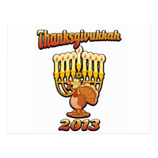 Thanksgivukkah Thanksgiving Chanukah A Funny Gift Post Card
