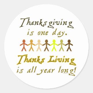 ThanksLiving Sticker