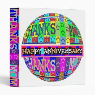 ThanksMom n Happy Anniversary together Binder