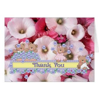 thankyou greeting card