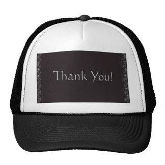 thankyou mesh hat