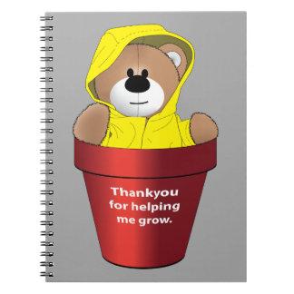 Thankyou Teacher Notebook