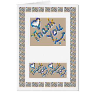 Thankyou Thank You Graphics  -  add text img Card