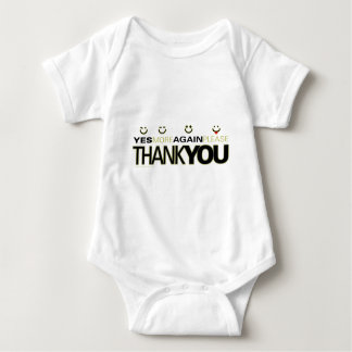 thankyou_white baby bodysuit