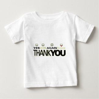 thankyou_white baby T-Shirt