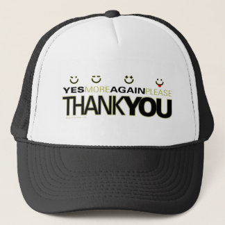 thankyou_white trucker hat