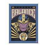 Thanos - Choose Balance Canvas Print