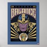 Thanos - Choose Balance Poster