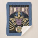 Thanos - Choose Balance Sherpa Blanket