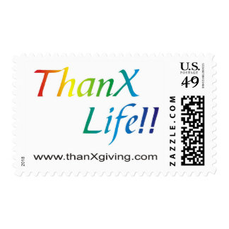 ThanX Life!!! Stamp
