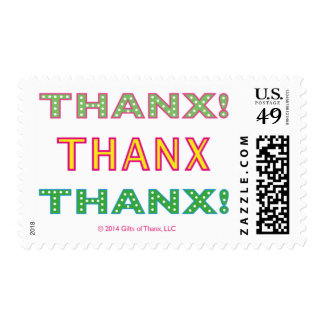 Thanx!, various rates - 20 Postage Stamps