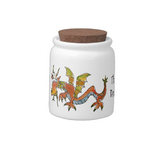 Thar Be Dragons Candy Jars