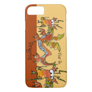Thar Be Dragons iPhone 8/7 Case