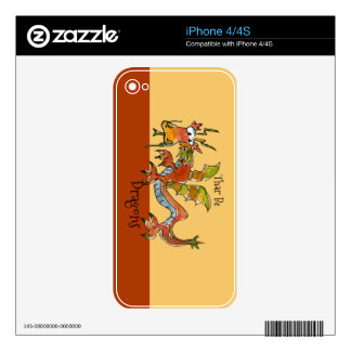 Thar Be Dragons Skins For The iPhone 4