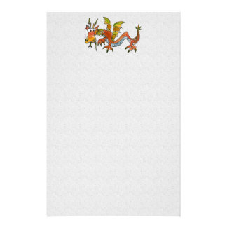 Thar Be Dragons Stationery