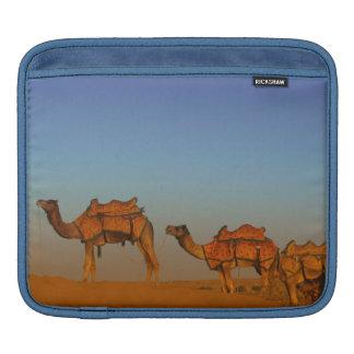 Thar desert, Rajasthan India. Camels along the iPad Sleeve