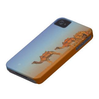 Thar desert, Rajasthan India. Camels along the iPhone 4 Case-Mate Case