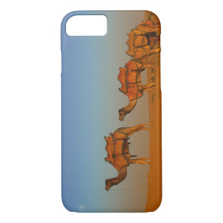 Thar desert, Rajasthan India. Camels along the iPhone 8/7 Case