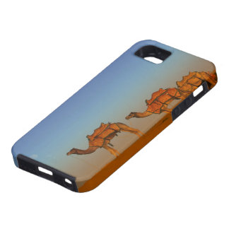 Thar desert, Rajasthan India. Camels along the iPhone SE/5/5s Case
