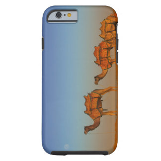 Thar desert, Rajasthan India. Camels along the Tough iPhone 6 Case