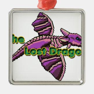 that 70s dragon metal ornament