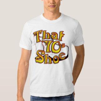 That 70's Shoe American Apparel Shirt