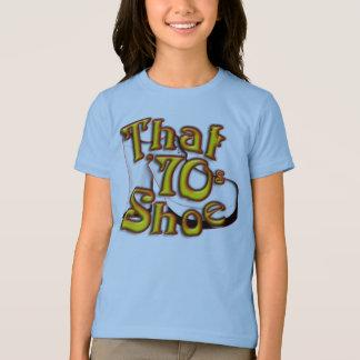 That 70's Shoe Girls Ringer T Shirt