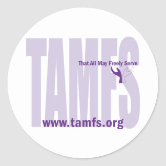 That All May Freely Serve - Logo Sticker