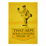 That Arm ~ Your Country Needs It. Poster