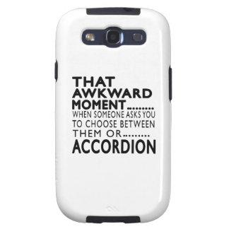 That Awkward Moment Accordion Designs Samsung Galaxy S3 Case