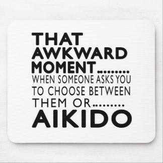That Awkward Moment Aikido Designs Mousepads