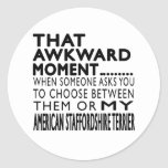 That Awkward Moment AMERICAN STAFFORDSHIRE TERRIER Stickers