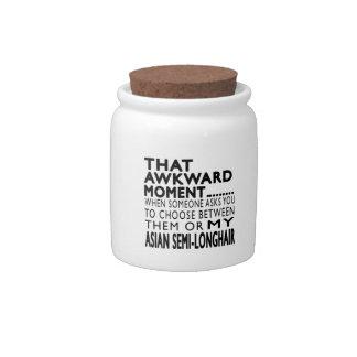 That Awkward Moment Asian Semi-longhair.Designs Candy Jar