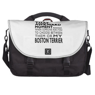 That Awkward Moment Boston Terrier Bags For Laptop