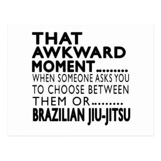 That Awkward Moment Brazilian Jiu-Jitsu Designs Postcards