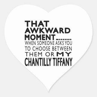 That Awkward Moment Chantilly Tiffany Designs Heart Sticker